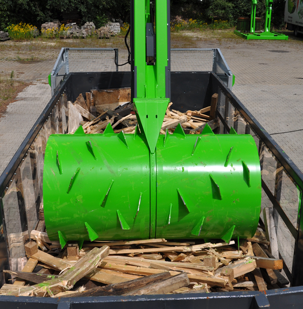 trash crusher machine